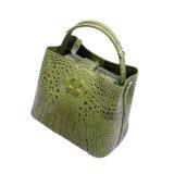 Sacchetto di Tote del cuoio del coccodrillo del progettista della borsa di modo delle 2017 signore