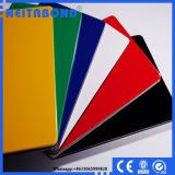 Painel composto de alumínio liso da impressão 2mm*0.21mm da base (ACP) para a classe do Signage