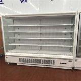 Gemüse-und Frucht-Bildschirmanzeige-geöffneter vorderer Kühlraum