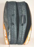Изготовленный на заказ мешок шарика летучей мыши ракетки ракетки тенниса для 8 пакетов в золоте