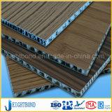 Del grano di legno nuovo dei 2017 comitato di alluminio del favo materiali della mobilia