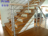 Verre Handrail/Glass Balustrade Balcony Handrail/Stainless Steel Railing pour Stairs Railing Pr-B1039