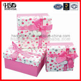 Caja de regalo de lujo reciclada aduana del papel de la cartulina