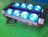 свет спайдера 8X10W RGBW 4in1 СИД/Moving головной свет влияния для света этапа диско