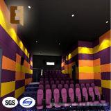 El panel acústico de la fibra de poliester del teatro casero