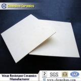 Doublures en céramique résistantes à l'usure abrasives de cyclone
