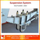 小型トレーラーのためのアメリカの構造のトレーラーの中断ばねシステム