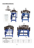 中国の製造業者のチェーン作成機械