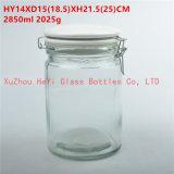 2850ml食糧ガラスシールの瓶のシールの記憶のガラス容器