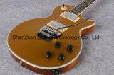 Золотистое оборудование серебра Vibrato Флойд электрической гитары типа Lp верхней части