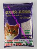 Maca de gato de aglutinação dura do Bentonite da natureza do controle do odor