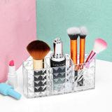 Het nieuwe Vat van de Borstel van de Strepen van de Diamant van de Verkoop van het Ontwerp Hete Acryl Kosmetische