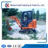 Mini position défonceuse de creusement de l'excavatrice Kd18 1.8tons 0.06m3 de machine