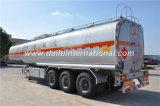 Acoplado diesel del precio bajo del depósito de gasolina del transporte del petróleo de 47 Cbm semi