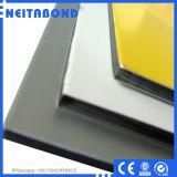 PVDF de aluminio de revestimiento de pared Hoja de materiales compuestos de aluminio (ACM)