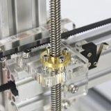 アネット高品質の銀色のアルミニウムフレームのFdm 3Dプリンター
