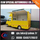 중국 공장 좋은 품질을%s 가진 최신 판매 새로운 4X2 Karry 소형 이동할 수 있는 음식 트럭