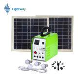 De draagbare 20W Uitrustingen van het Gebruik van het Huis & het Kamperen Zonne Lichte