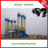 usine de traitement en lots concrète de commande de PLC 120m3/H