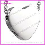 Acier inoxydable Pendentif en coeur Pendentif gratuit Gravure Crampons