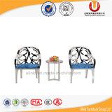 Tabella pranzante rotativa della sala da pranzo moderna rotonda (UL-DC653)