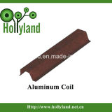 Het met een laag bedekte & In reliëf gemaakte Blad van de Rol van het Aluminium (ALC1115)