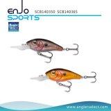 Angler auserwählter Crankbait 5cm flacher Fischen-Köder mit Vmc dreifachen Haken (SCB140350)