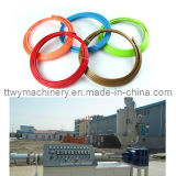 Cadena de producción protectora plástica del anillo del eje de rueda de coche/línea de la protuberancia/máquina Twp32 del estirador