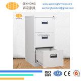 Шкаф для картотеки металла хранения 3 ящиков вертикальный