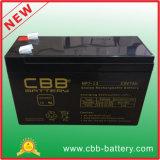 "Bateria acidificada ao chumbo do AGM de Cbb 12V 7ah para UPS, ""trotinette"""