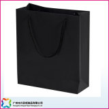 Bolso de papel de encargo del regalo del OEM/bolso de compras/bolso de empaquetado con la maneta para la Navidad
