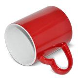 도매 색깔 변화 찻잔 사랑 손잡이 마술 승화 찻잔 인쇄