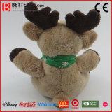 Het gift Gevulde Dierlijke Zachte Stuk speelgoed van Kerstmis van de Pluche van het Rendier van het Stuk speelgoed voor Jonge geitjes