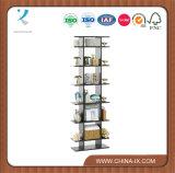 Personnalisé 7 couches de tour de crémaillère d'étalage en bois