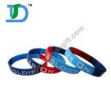 Progettare il Wristband per il cliente variopinto del silicone per la promozione