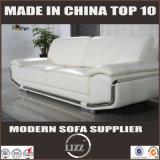 Europa Modern Home Furniture Sofá de couro vivo para a Inglaterra