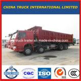 Scaricatore, ribaltatore, autocarro a cassone di HOWO 8X4, camion del camion, camion resistente