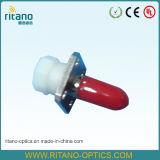 Blauw Met beperkte verliezen van de Adapter 0.2dB van de Vezel van Sc het Optische Plastic