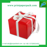 Rectángulo de papel de empaquetado de la flor del rectángulo del regalo del rectángulo del chocolate