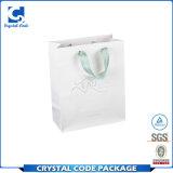 Ecoの友好的な昇進によってカスタマイズされるロゴの装飾的な紙袋