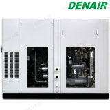 食品加工のためのDenairの電動機オイルの自由大気の圧縮機