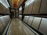 白いカラーBulattiの二重ローディングの建築材料の磨かれた磁器の床タイル