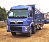 Faw 8X4 40-50 Tons Van Cargo Truck