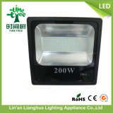 Projector energy-saving do diodo emissor de luz 200W para ao ar livre com Ce RoHS