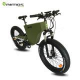 """26 """"浜の巡洋艦4.0の脂肪タイヤ安いEのバイクの完全な中断電気バイク"""