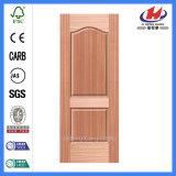 Peau en bois de porte de teck chinois de placage de panneaux de la qualité six (JHK-S02)