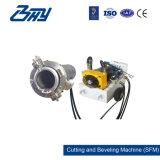 """4 """" - 8 """"のための分割されたフレーム、油圧管の切断および斜角が付く機械(114.3-219.1mm)"""