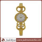 Gute Qualitätsuhr-Edelstahl-Uhr Laidies Quarz-Uhr