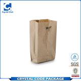 Мешок хлеба изготовленный на заказ логоса Recyclable упаковывая бумажный