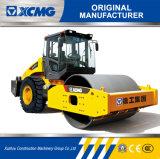 Le constructeur officiel Xs122 12ton de XCMG choisissent le mini compacteur de rouleau de route de tambour
